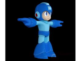 Mega Man Rockman 3d model