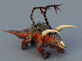 Felhunter Demon 3d model