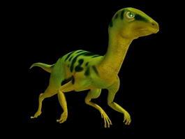 Compsognathus Dinosaur 3d model