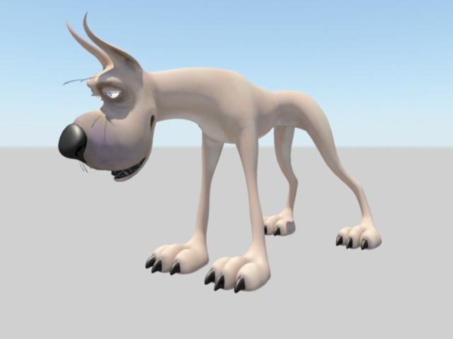 Great Dane Rig 3d rendering