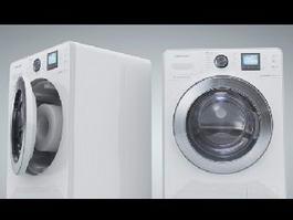 Front-loader Washing Machine 3d model