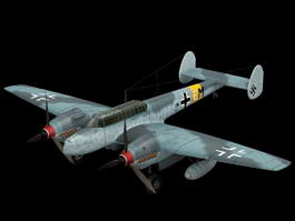 Bf 110 Night Fighter 3d model