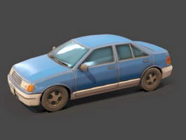 Mitsubishi Lancer GL Sedan 3d model