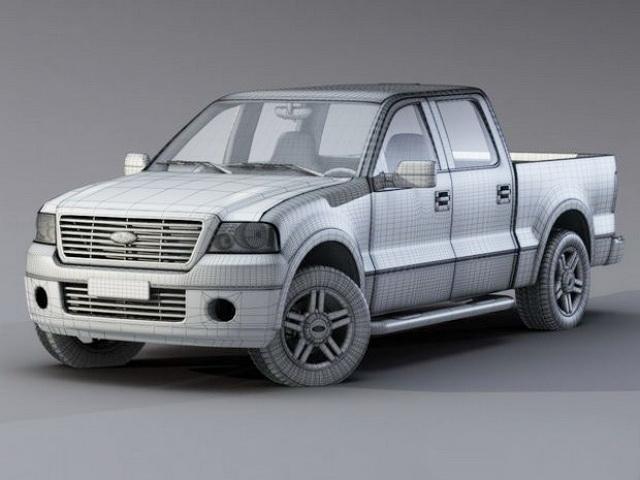 Ford F D Model