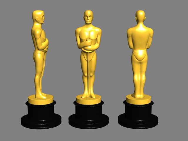 Oscar Award Statue 3d Model Object Files Free Download