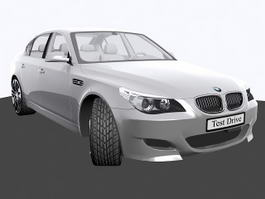 BMW M5 Sport Sedan 3d model