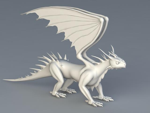 Wyvern Dragon 3d model