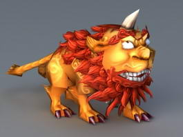 Monster Nian 3d model