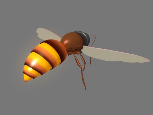 Honey Bee 3d model Maya files free download - modeling 43176