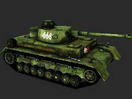 Modern Medium Tank 3d model