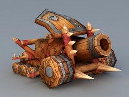 Siege Artillery 3d preview