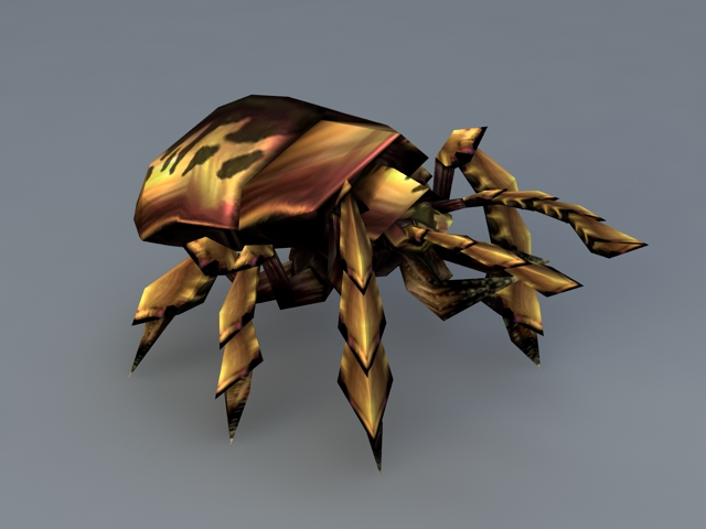 Silithid Scarab 3d model