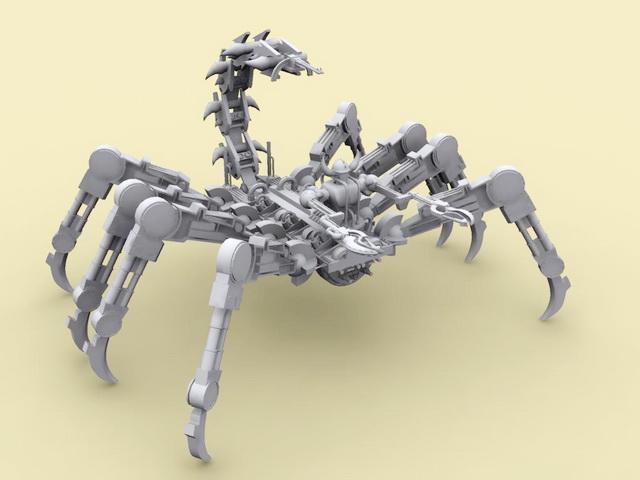 Robotic Scorpion 3d model