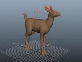 Deer Rig 3d model