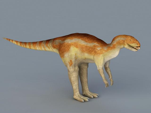 Hexinlusaurus Dinosaur 3d model