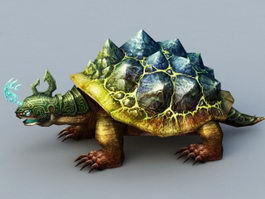 Battle Turtle 3d model