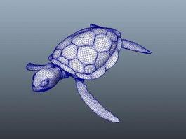 Sea Tortoise 3d model