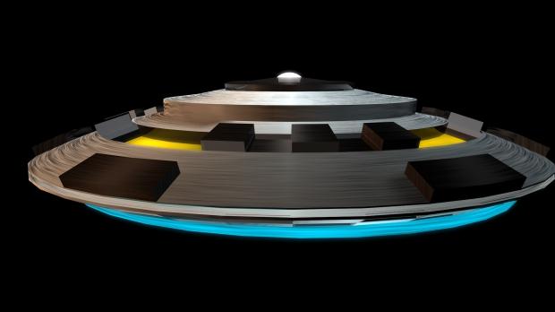 U F o Spaceship 3d model Cinema 4D,Object files free download