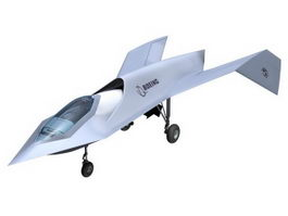 Boeing Bird of Prey 3d model