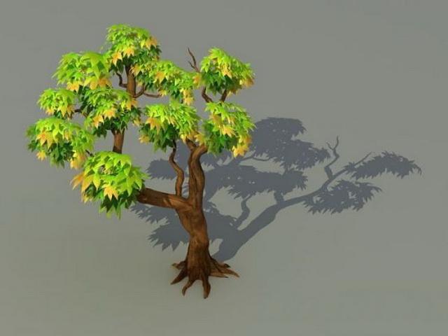 Trees 3d model free download - cadnav com