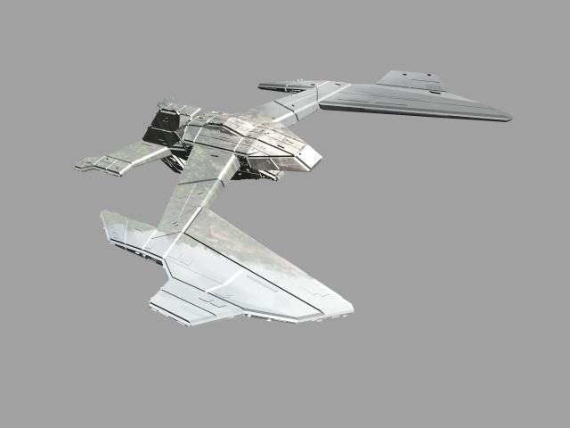 Avatar Valkyrie Shuttle 3d model