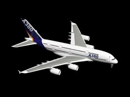 A380 Airplane 3d model