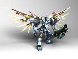 Mobile Suit Gundam ZZ 3d model