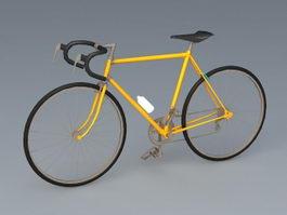 Road Racing Bike 3d model