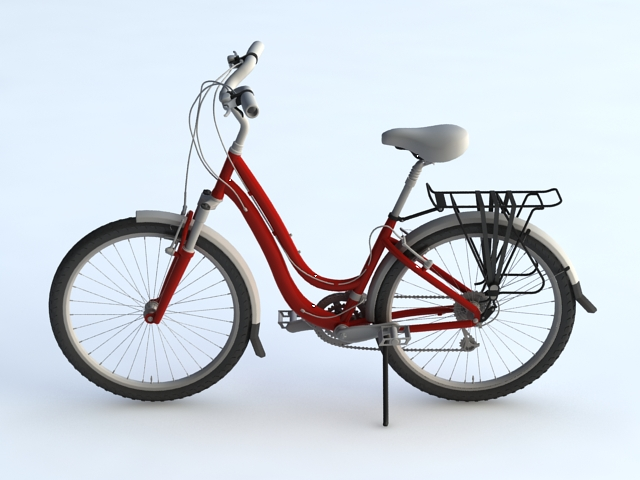Urban Bike 3d model