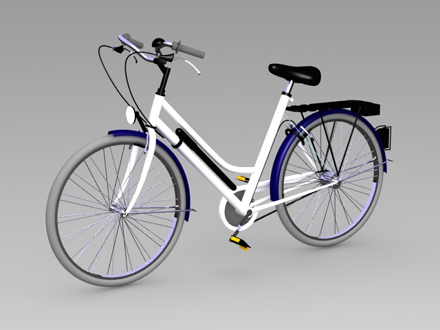 Comfort Bike 3d model