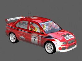 Mitsubishi Lancer WRC 3d preview