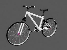 Touring Bike 3d model