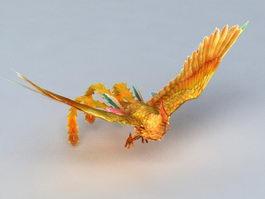 Phoenix Bird 3d model