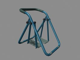Health Walkers Glide Machine 3d model