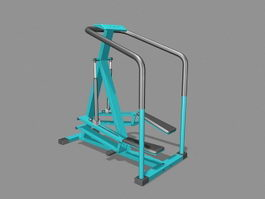 Stair Stepper Exercise Machine 3d model