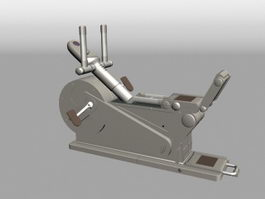 Sport Rider Exercise Machine 3d model