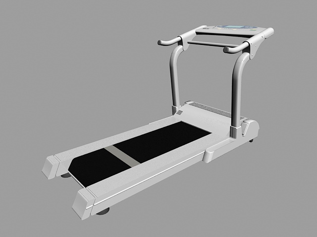Treadmill Running Machine 3d model