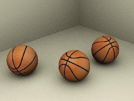 Basketballs 3d model