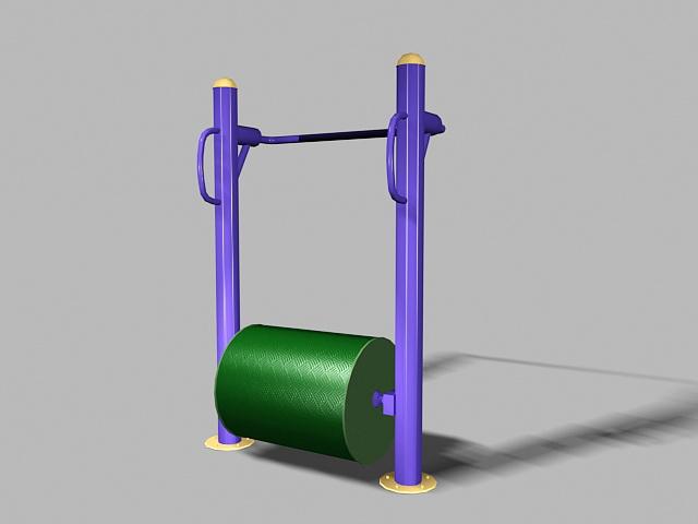 Elderly Playground Equipment 3d model