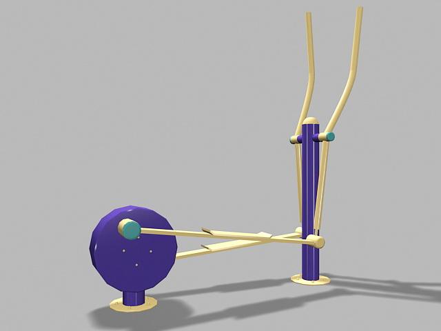 Stepper Fitness Exercise Equipment 3d model
