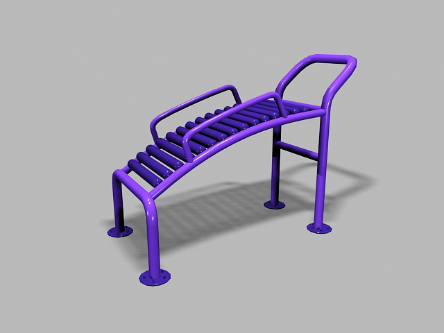 Adult Playground Equipment 3d model