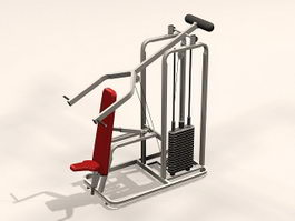 Weight Lifting Machine 3d model