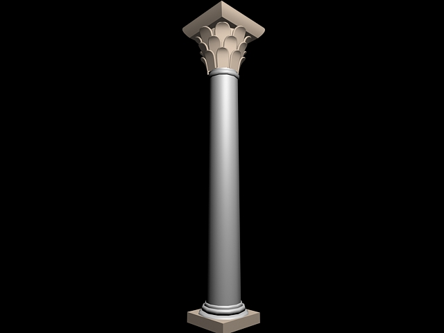 Roman Pillar 3d model