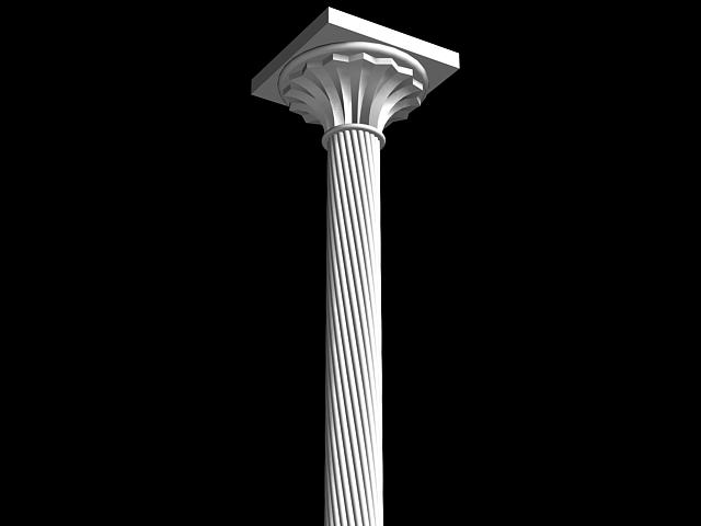 Decorative Pillar 3d model