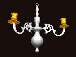 Classic Pendant Lamps 3d model