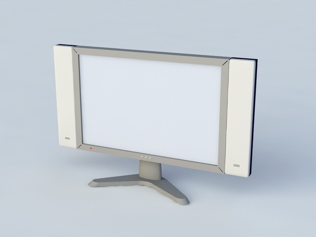 Flat-Screen TV 3d model