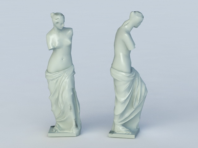 Venus Greek Statue 3d model