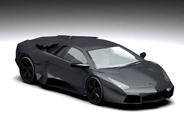 3dSkyHost: Lamborghini Reventon Roadster 3D Model