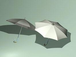 Rain Umbrella 3d model