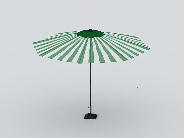 Patio Umbrella 3d model
